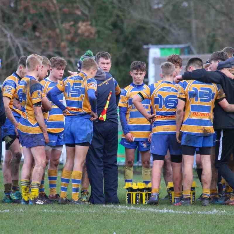 U16s Old Leamingtonians V Sutton Coldfield