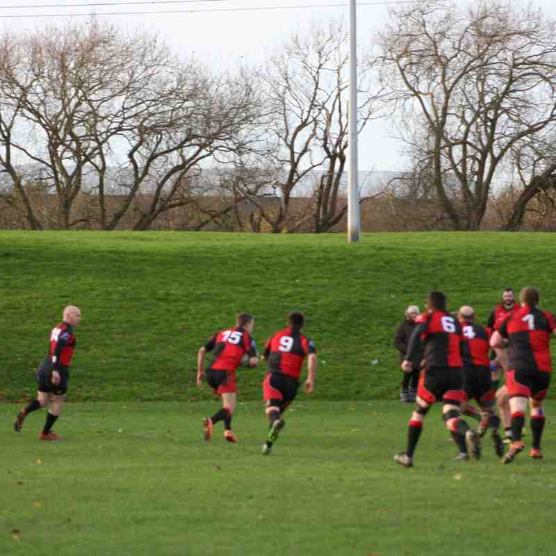 CDRUFC vs Paviors 3s 21st November 2015