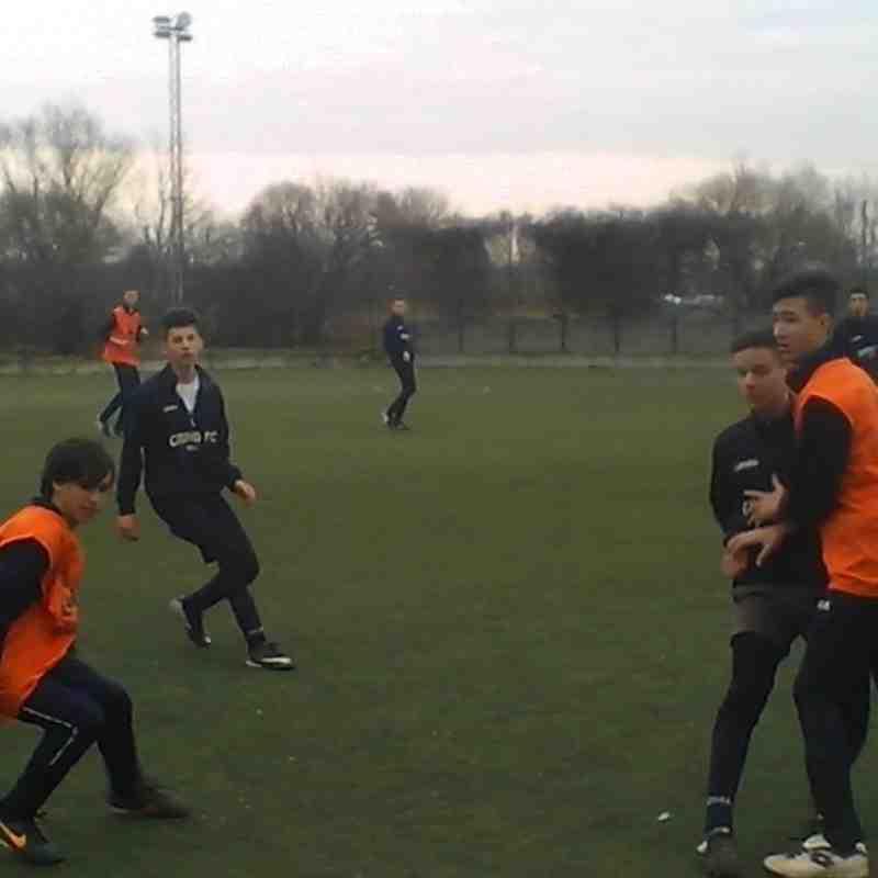 U15 - U17 Edzőmeccs ( 2014.02.16. )