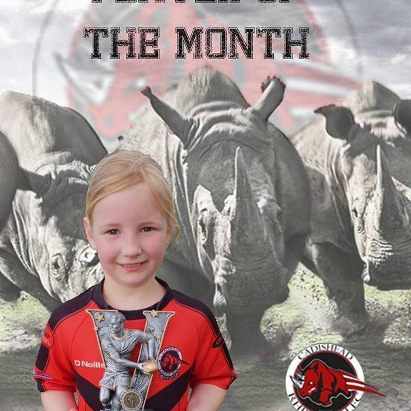 Cadishead Rhinos player of the month - May