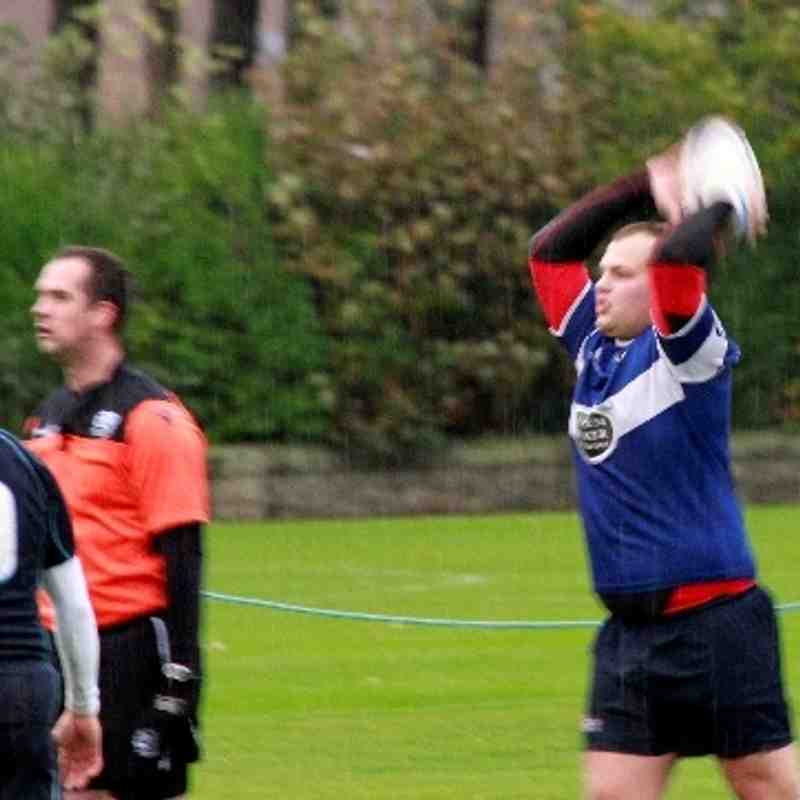 Dunfermline RFC versus St Andrews University RFC