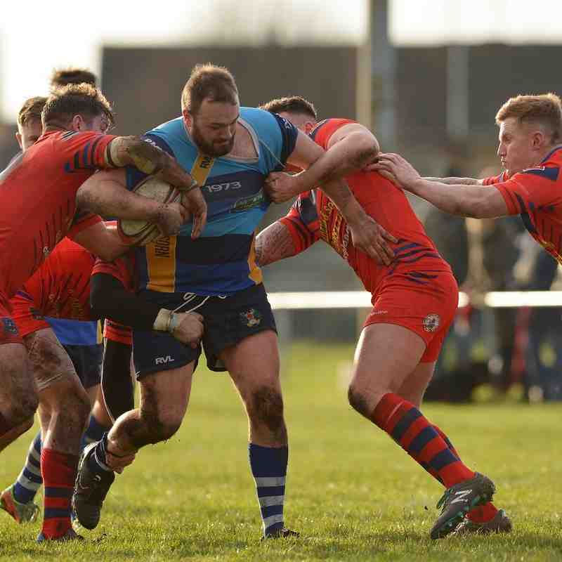 First Team v Distington ARLFC - 13th February 2016
