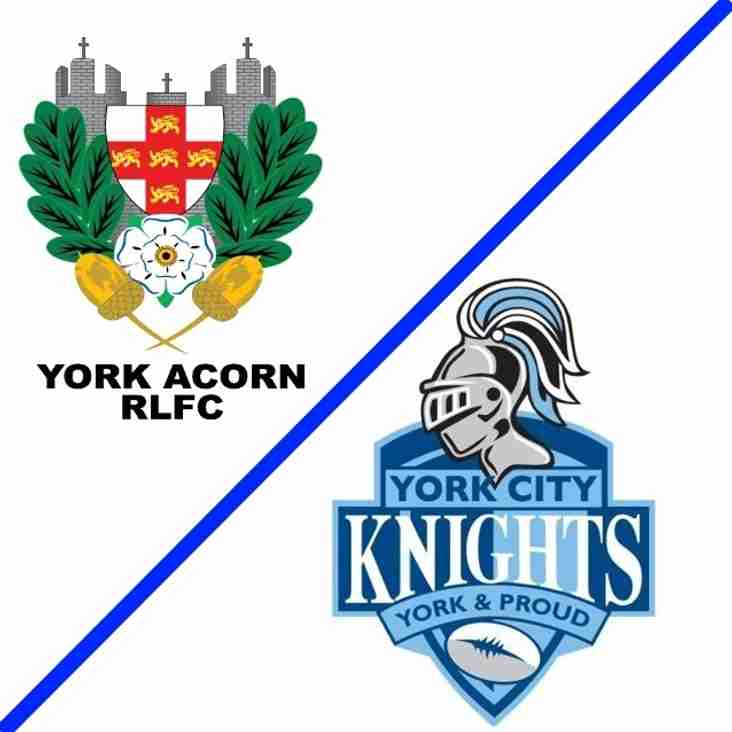 Acorn Vs Knights Tickets
