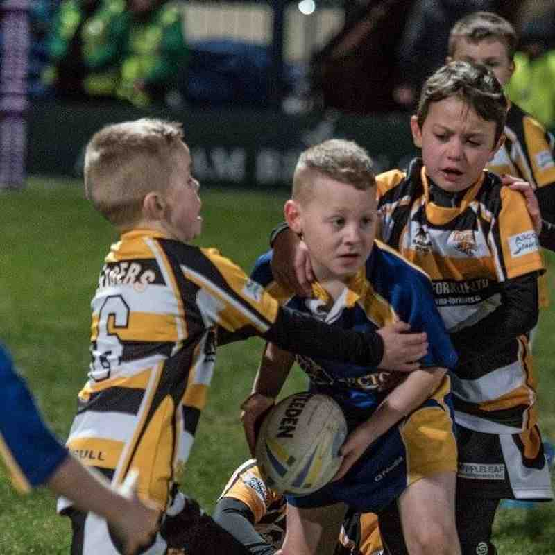 Under 8's at WCC 20th Feb 2016