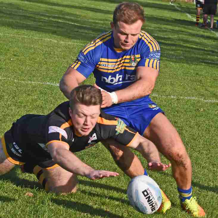 Acorn well set for Challenge Cup clash at Myton Warriors