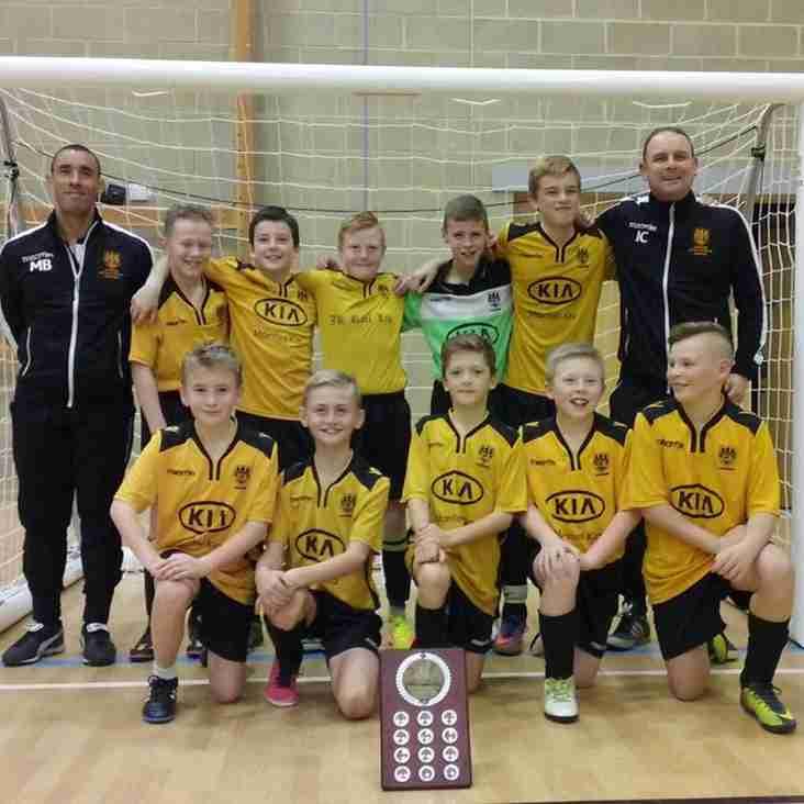 Beds FA Futsal Winners