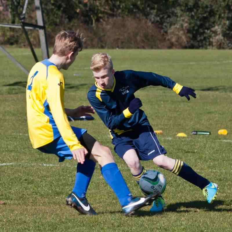 U15 Blues v Bedford Park Rangers 160314