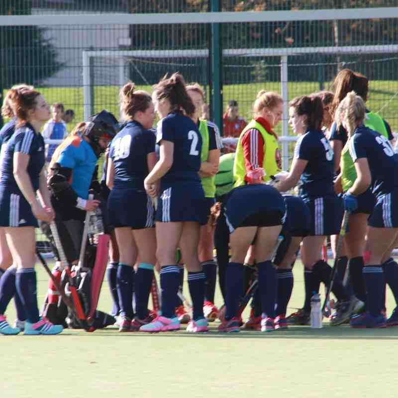 Ladies 1's vs Kendal 25th Oct 2014