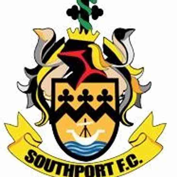 Southport v Marine - Liverpool Senior Cup Tie