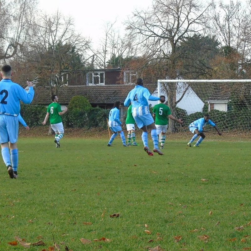 Chairman's View - Marlow United 3 Berks County 2