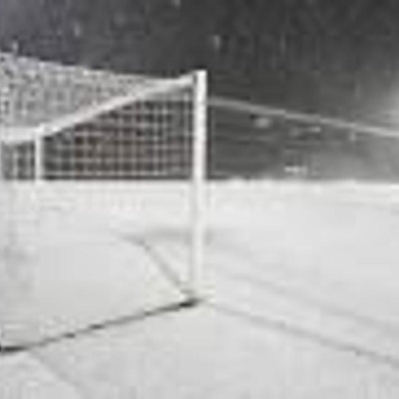 TVPL - Marlow United v Woodcote Stoke Row - Postponed - Frozen Pitch