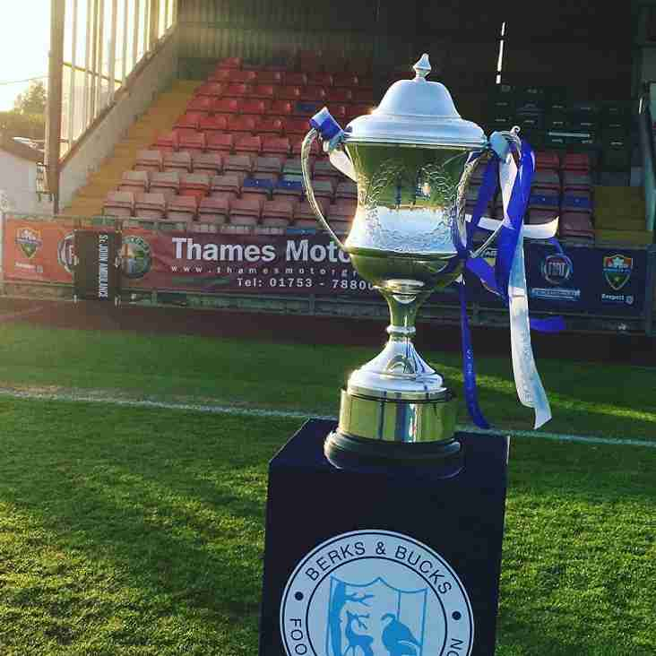 United to Face Buckingham Athletic in Berks & Bucks FA Senior Trophy Quarter Final