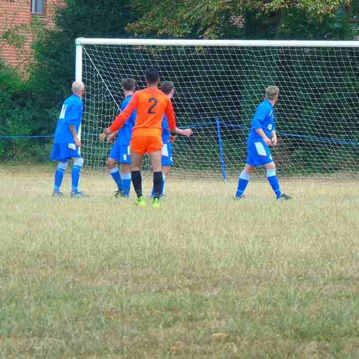 Pre-Season Fixture Burghfield X1 - 0 Marlow United X1 -  4