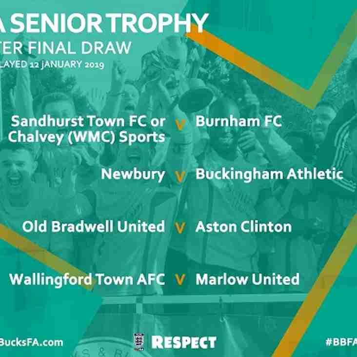 Berks & Bucks FA Senior Trophy Draw