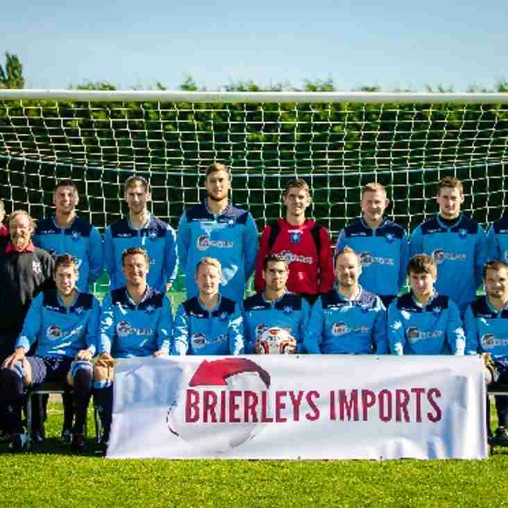 Brierleys Imports Sponsor 1st Team Away Kit