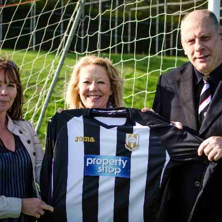 The Property Shop sponsors Acle Reserves Home Kit