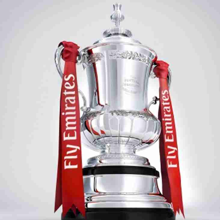 WE START OF WITH A HOME GAME IN THE FA CUP