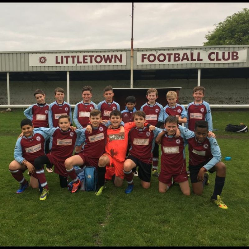 Under 13's  lose to Morley Glen Juniors Blue 1 - 7