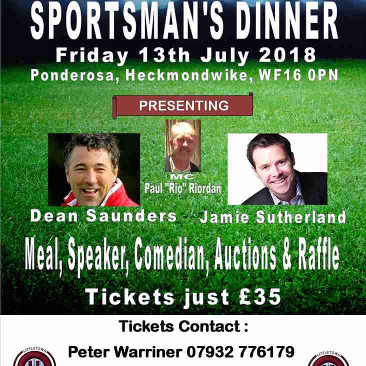 Littletown FC Sportsman's Dinner 2018