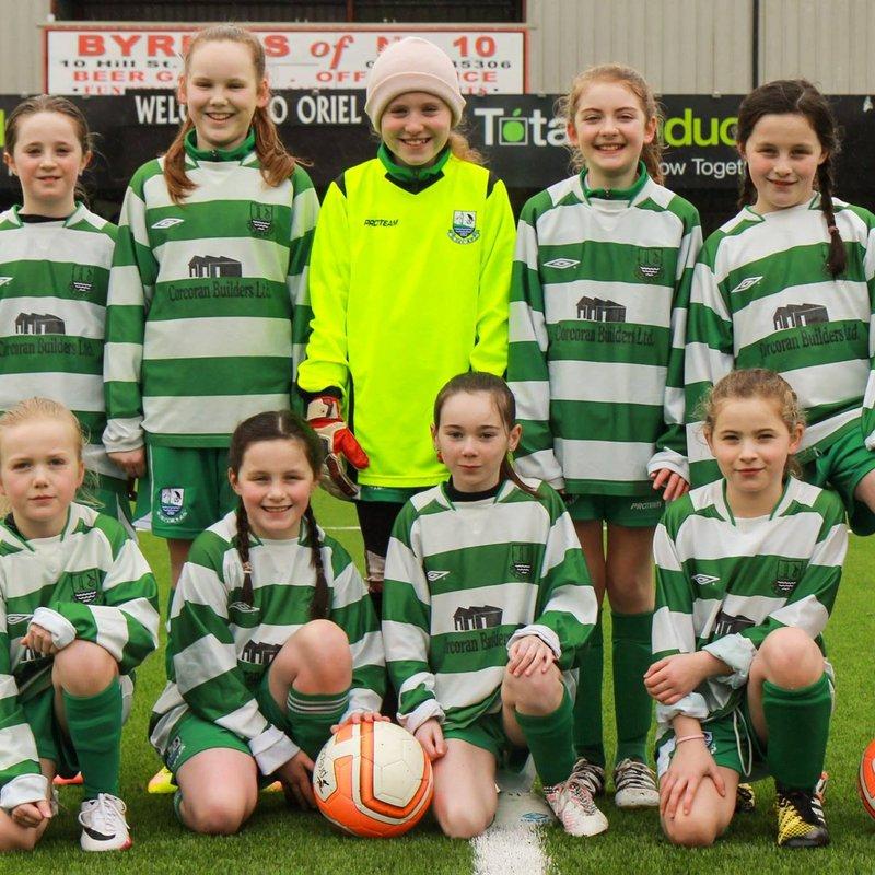 Girls U12 beat Stamullen 5 - 2