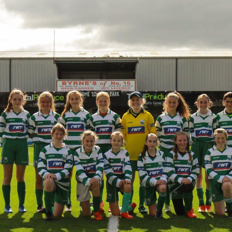 Girls U14 lose to Enniskerry 3 - 1