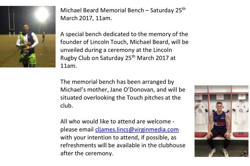 Michael Beard Memorial