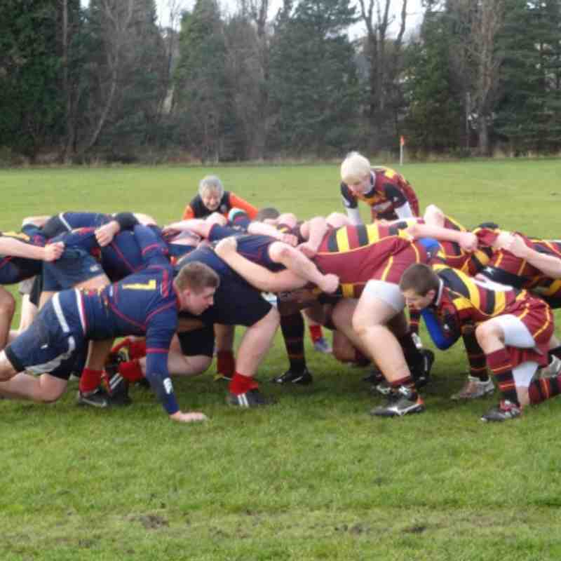 West V Ellon U18 131130