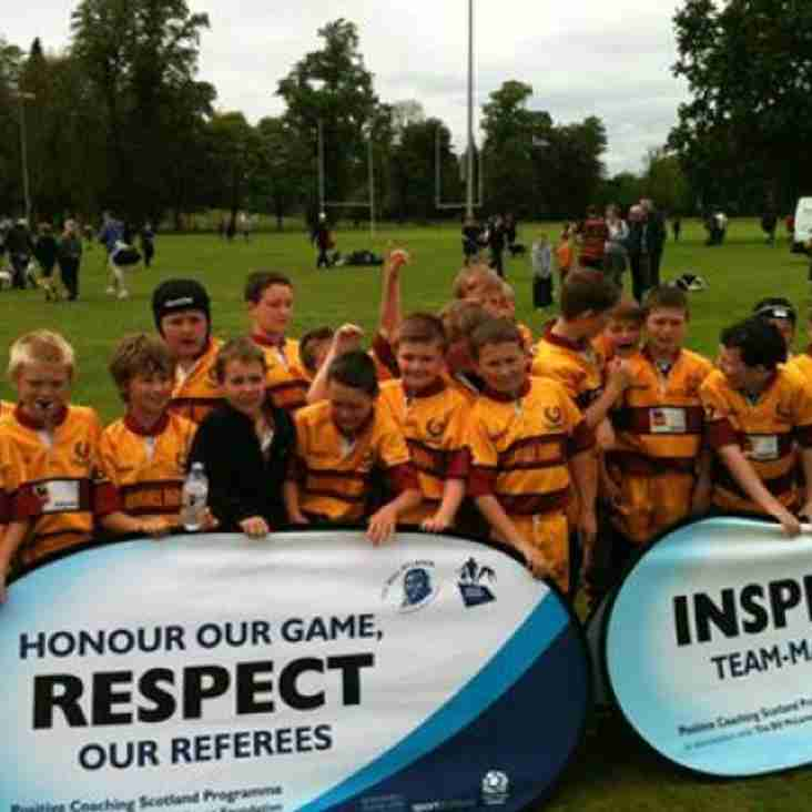 Great day for Ellon P6/7 teams at the PCS festival in Perth.