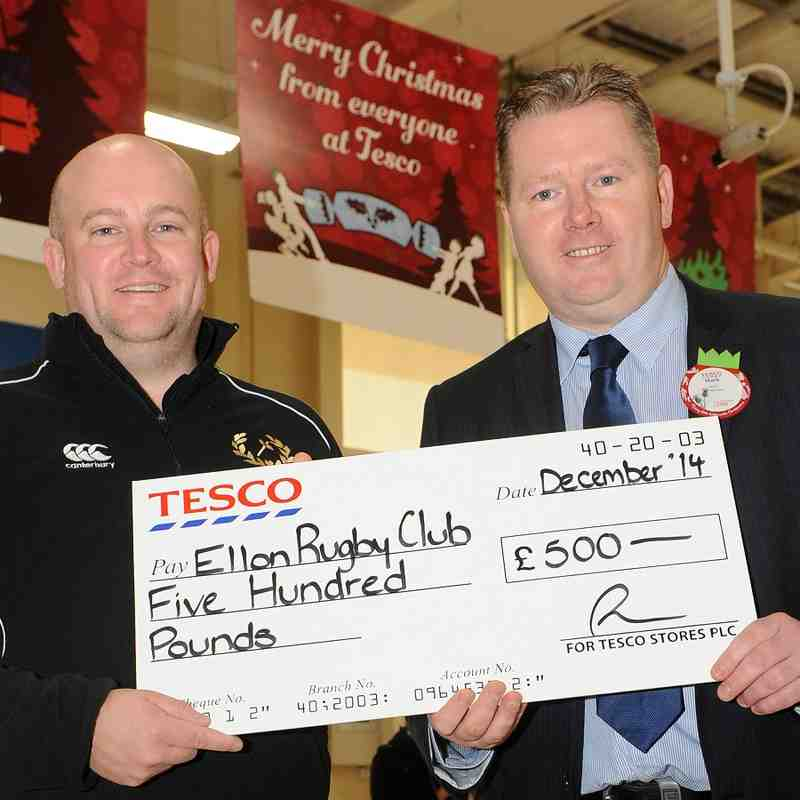 Tesco Sponsorship