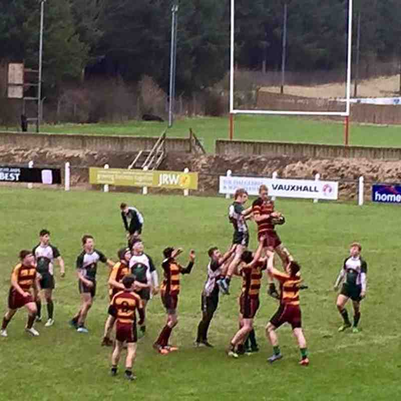 U16 National Cup V Hawick 150124