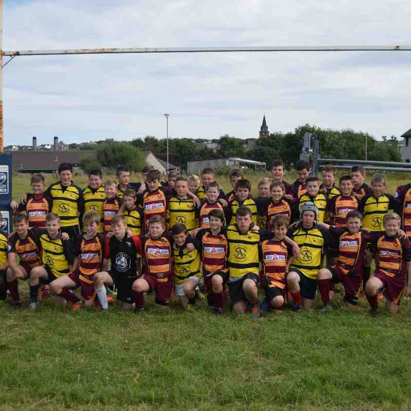 S1/2 Orkney Trip August 2015
