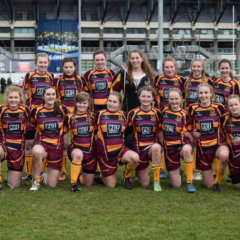 160306 Ellon U18 Girls V Murrayfield Wanderers
