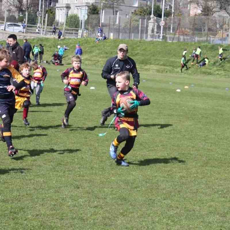 160424 Ellon Junior Section at Aberdeen Rugby