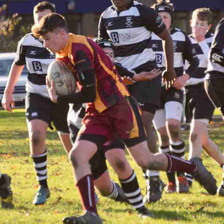 171112 Weekend Review - Ellon Rugby Youth hit top spot again!