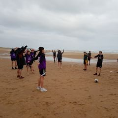 180106 U14 U15 Beach training