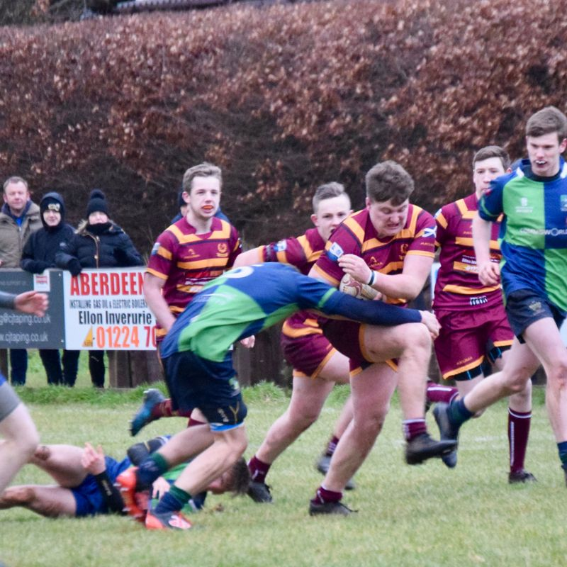 Ellon Rugby Weekend Report 180115