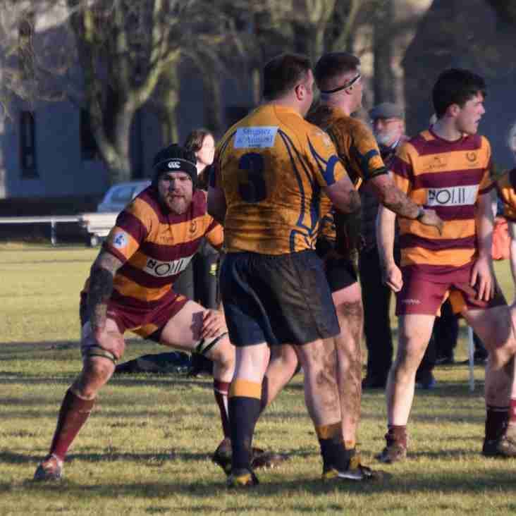 Weekend Review 180218.  In a tough weekend for Ellon Rugby, U16 come out on top!