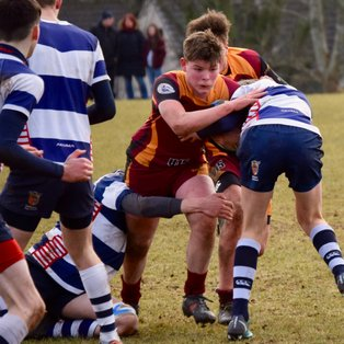Big loss in the cup for a weakend Ellon U15 team.