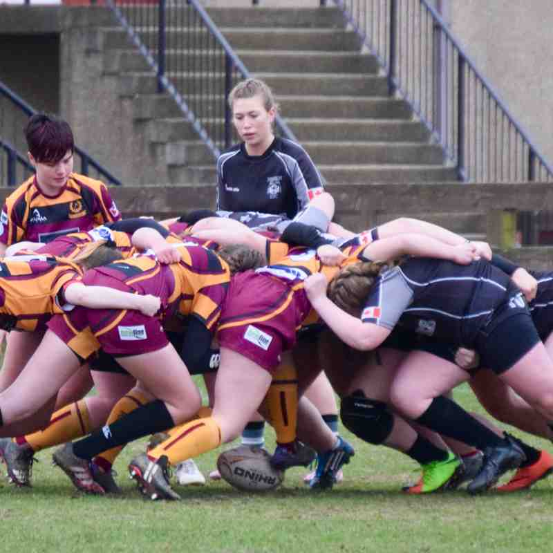 180412 Grampian Girls v Dr Denison Huskies