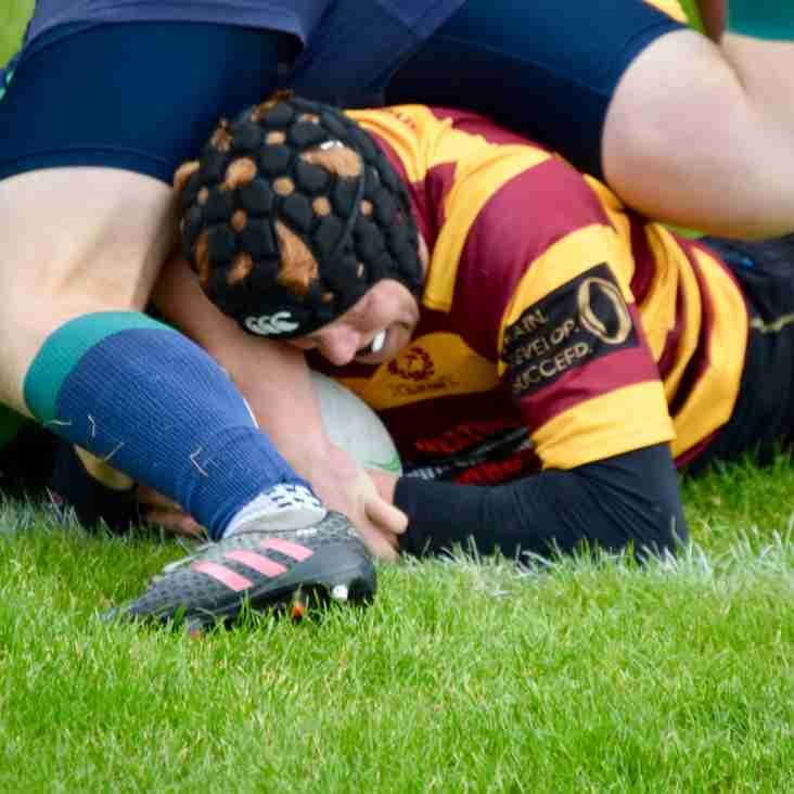 Weekend Review - 180929 Win in the local derby for Ellon First XV