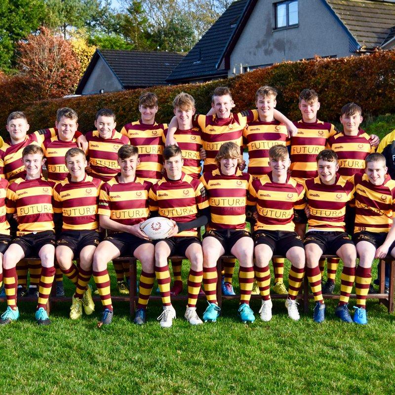 U16 beat Strathmore