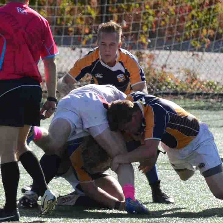 PRO Rugby Denver Stampede Head Coach Sean O'Leary leads session