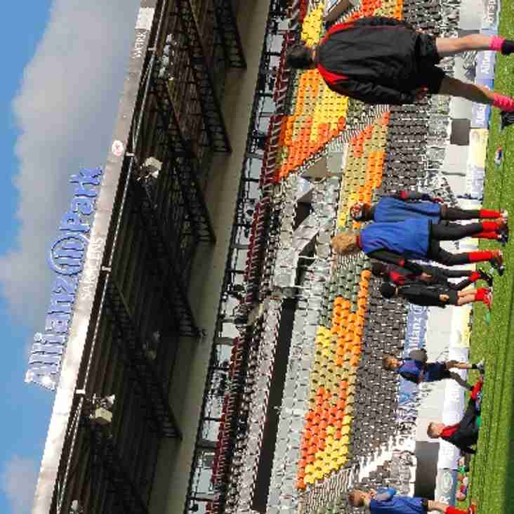 Training at the Allianz