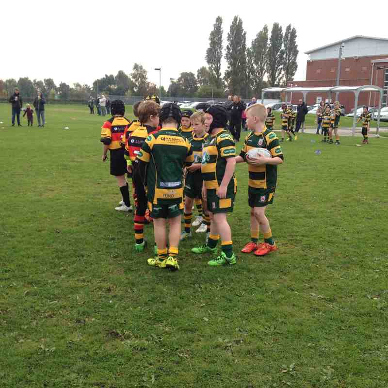 West Park vs Southport - U9's 11/10/15