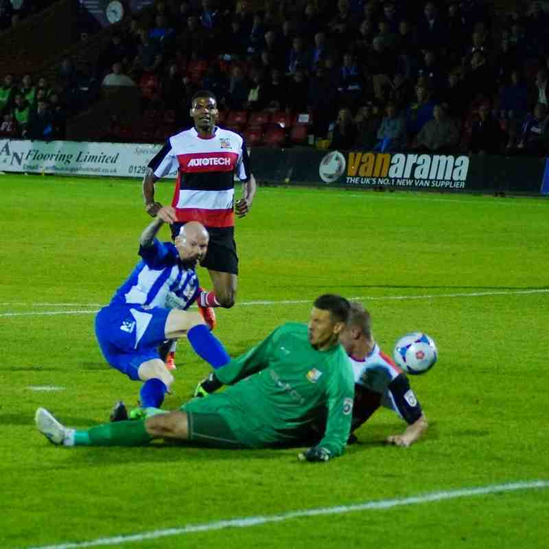 Worcester City v Solihull Moors fa Cup 13-10-15