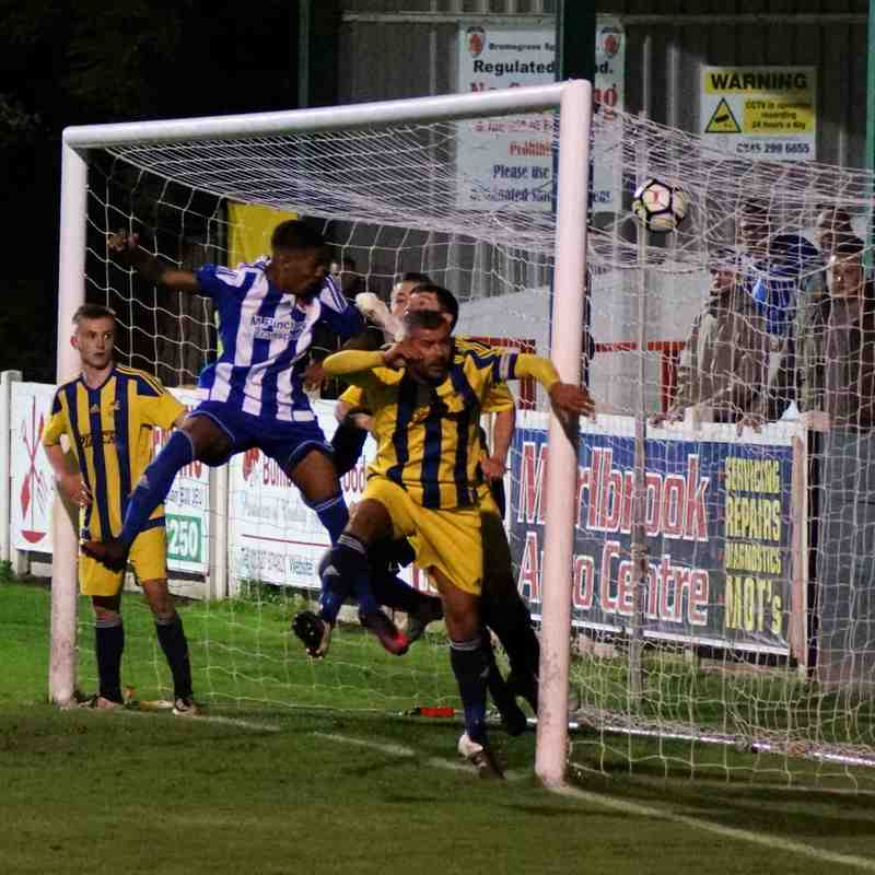 Worcester City v Coventry Sphinx 3-10-2017