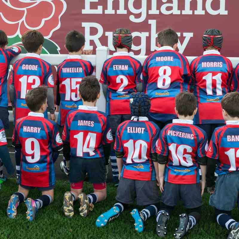 Banbury U9's Rugby Tour - Brean Sands