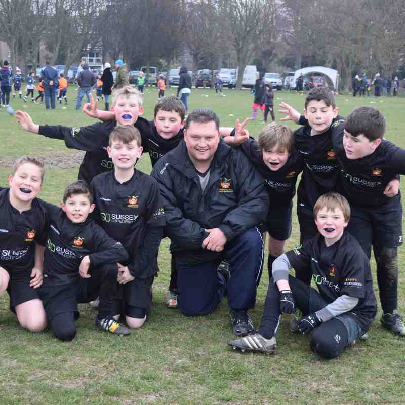 Under 10's Eastbourne - 15 March 2015