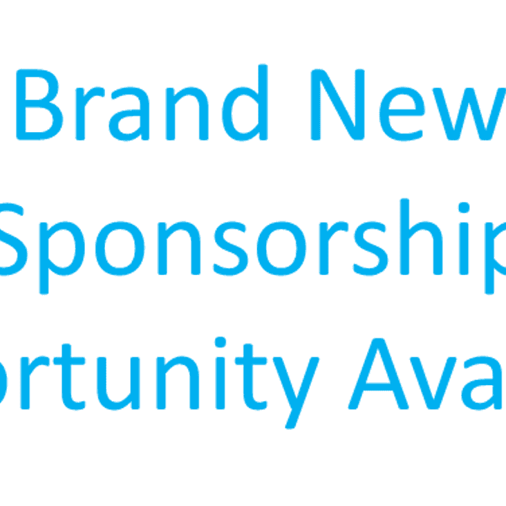 New Sponsorship Opportunity Available
