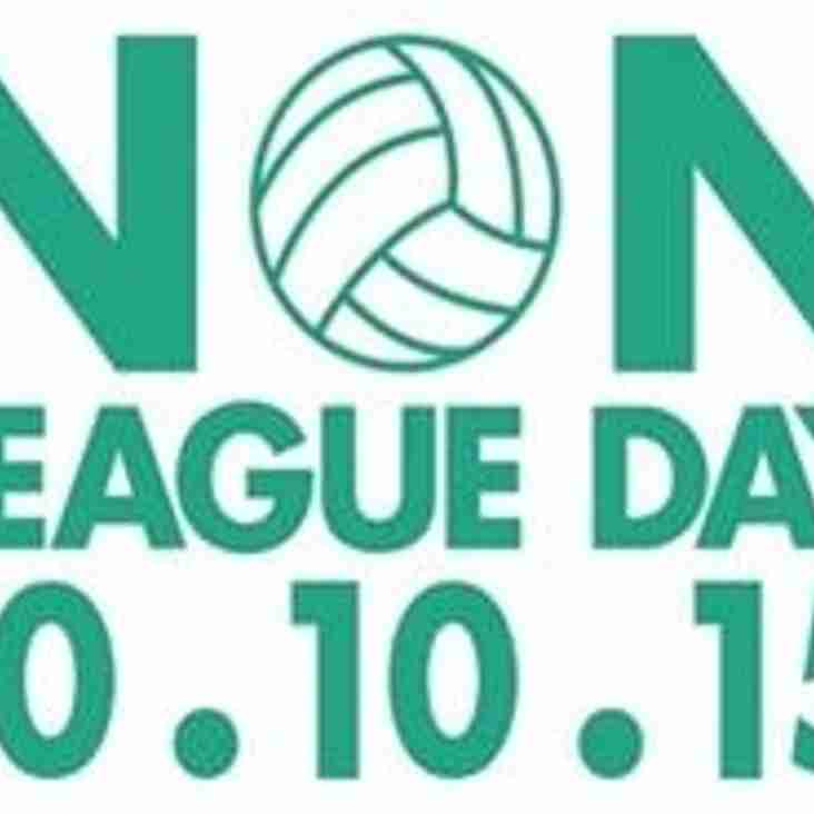 Join us for Non League Day 2015